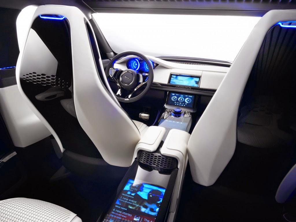 jaguar-c-x17 interior