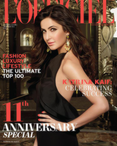 Katrina Kaif's Latest Photo shoot for L'Officiel magazine