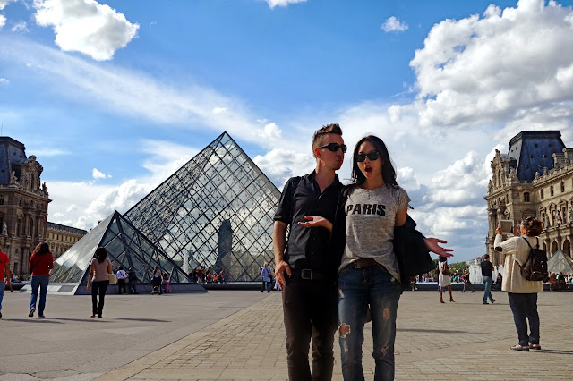 Madewell Paris t-shirt, the Louvre