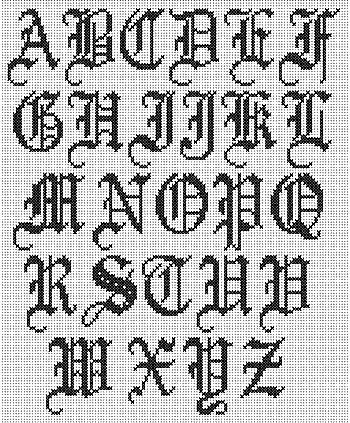 hacer diferentes tipos de letras: