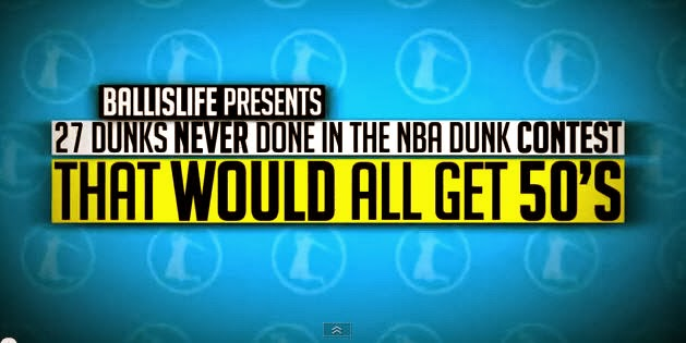 27 dunks that have NEVER been done in the NBA Dunk Contest