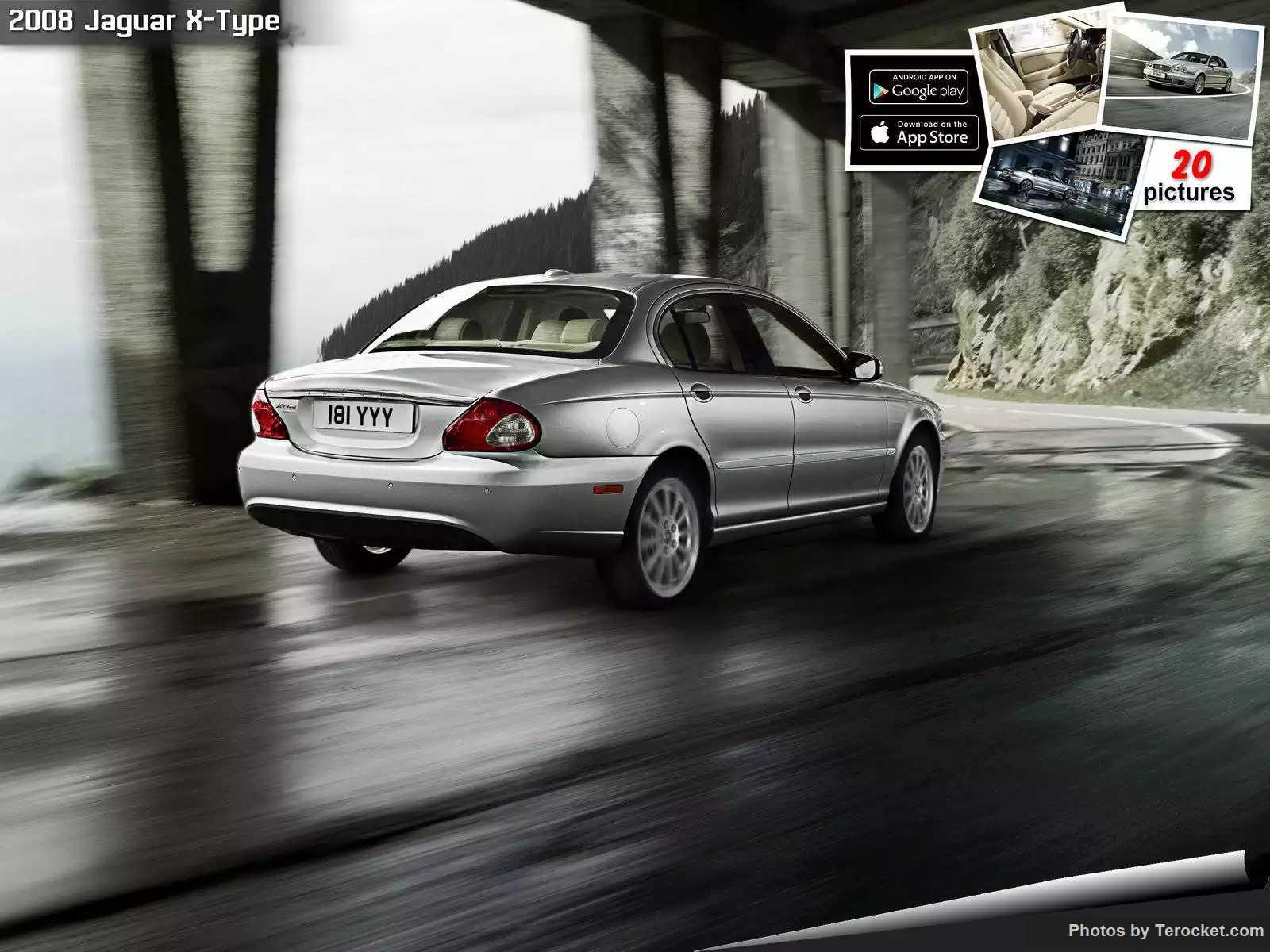 Hình ảnh xe ô tô Jaguar X-Type 2008 & nội ngoại thất
