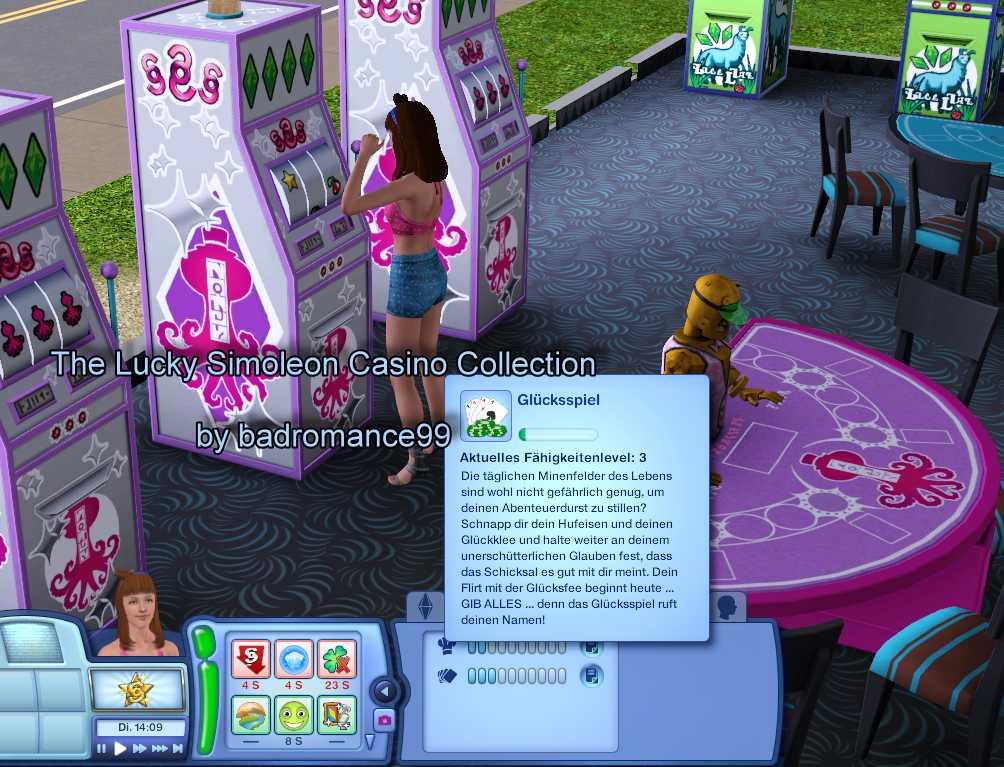 sims 3 lucky simoleon casino