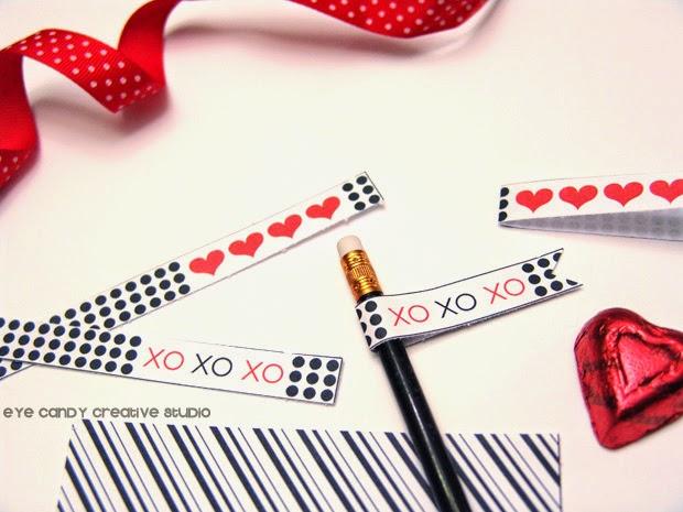 black and white valentines printables, modern valentines freebies