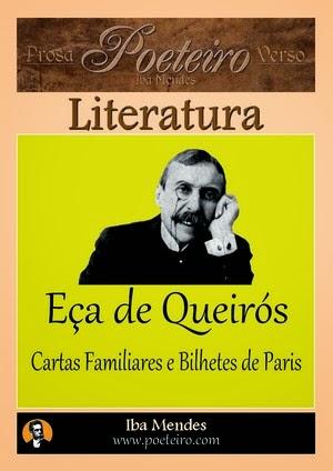 Eca de Queiros - Cartas Familiares e Bilhetes de Paris - Iba Mendes