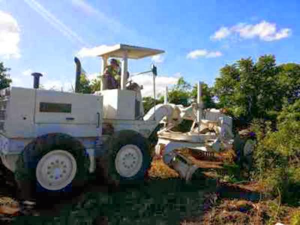 TNI Bangun Landasan Helipad di Haiti
