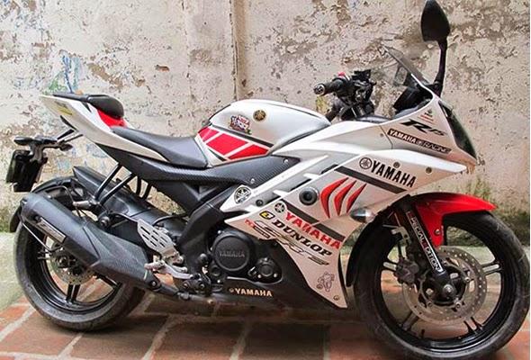 Foto Modifikasi Motor Yamaha R15 Keren