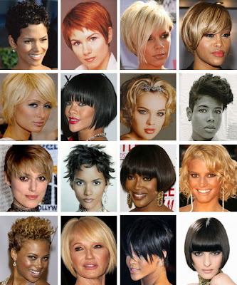 Hair Style Trend General: Different Short Hairstyles
