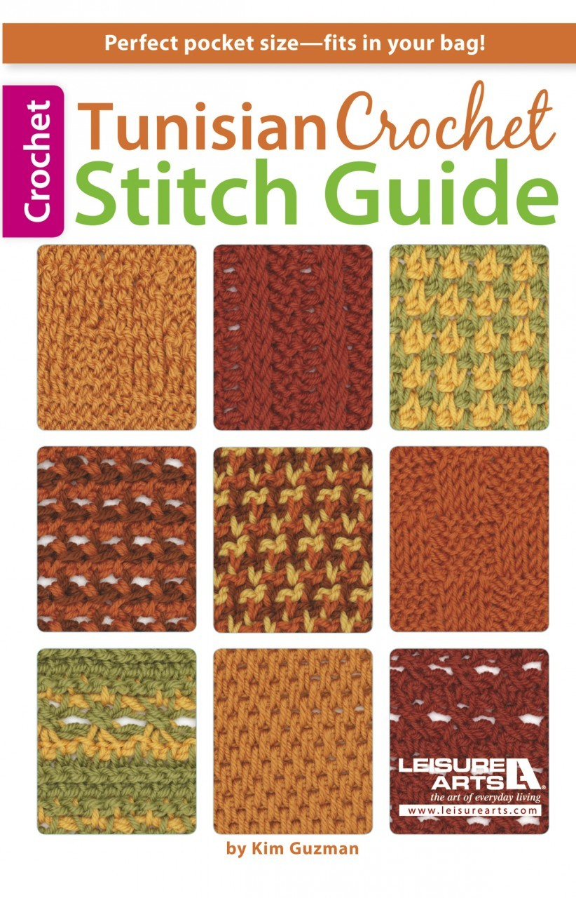 Crochet Pattern Central Free Online Crochet Stitch Directory : Everyday Life at Leisure: Learn More About Tunisian ...