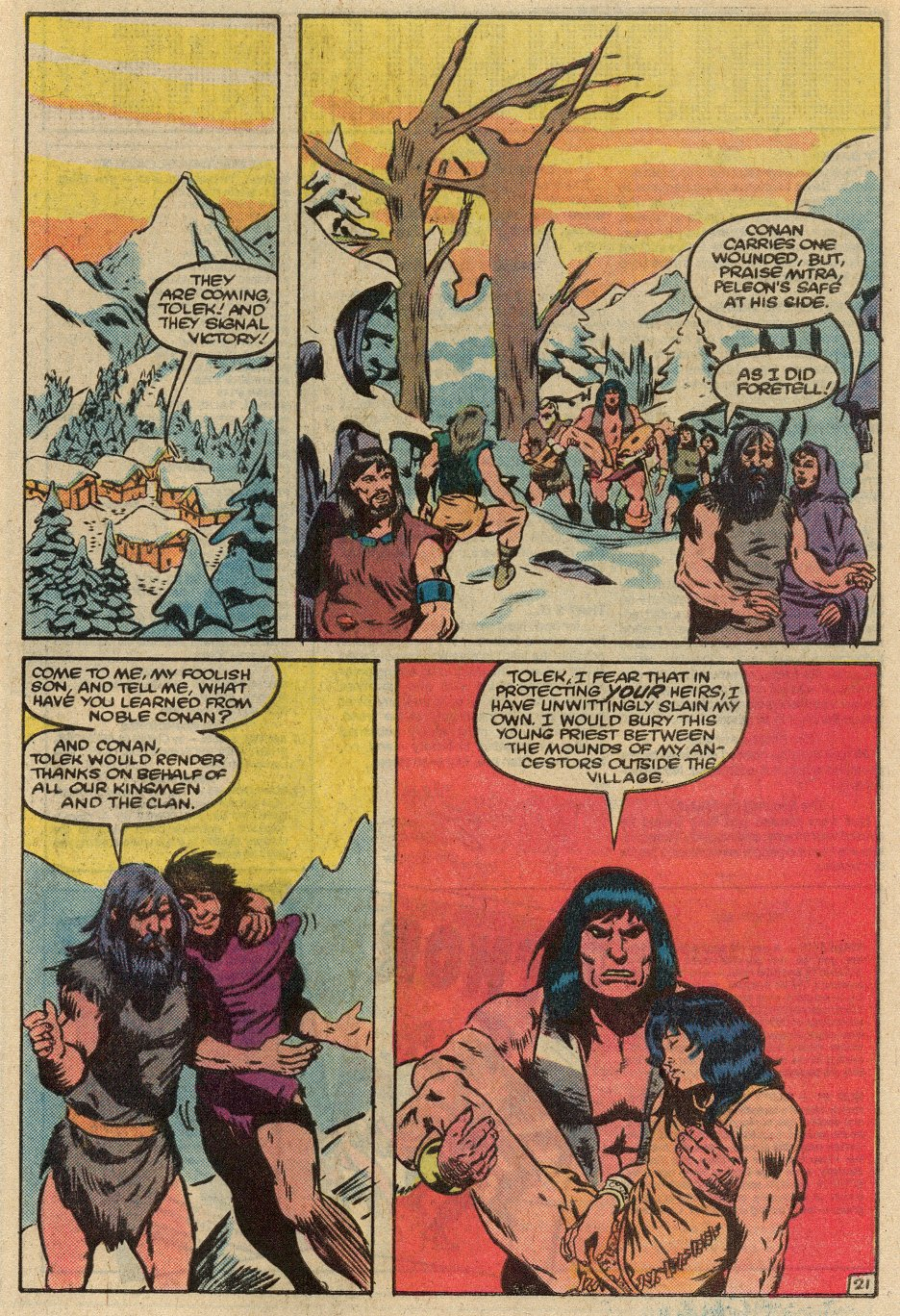 Conan the Barbarian (1970) Issue #145 #157 - English 22
