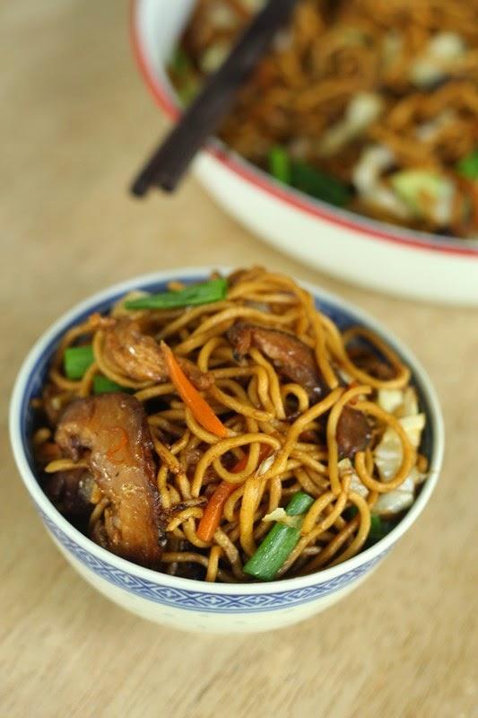 nasi lemak lover homemade chinese egg noodles 全蛋面 / 油面
