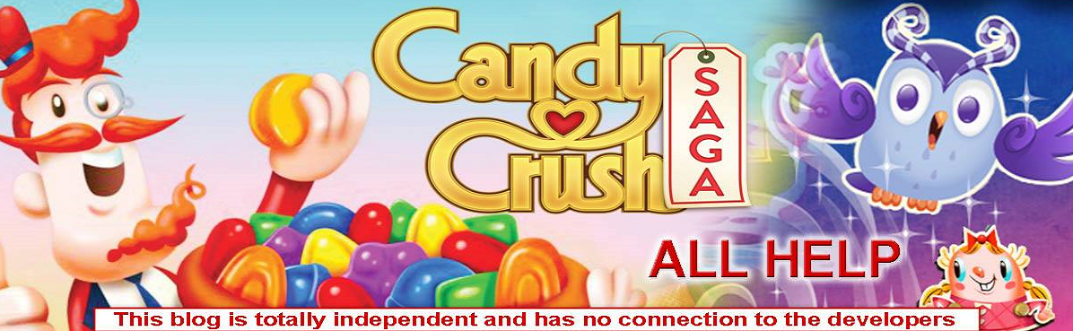 Candy Crush Saga All Help