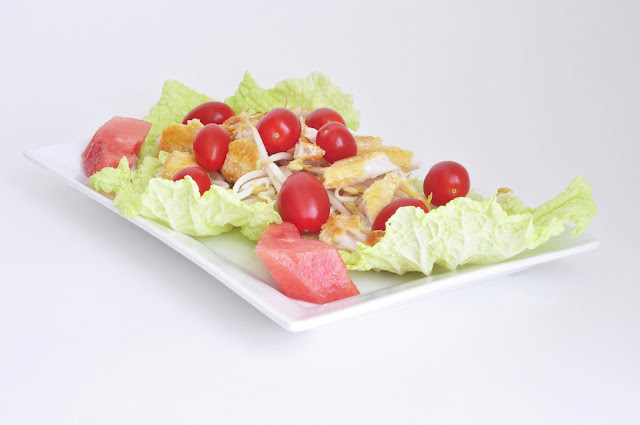 Smoked River Cobbler Salad ~ Simple Food