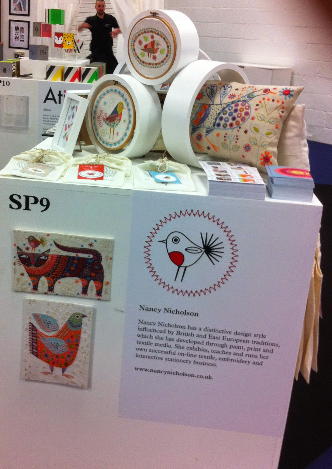 My stand at Spotted area at Top Drawer