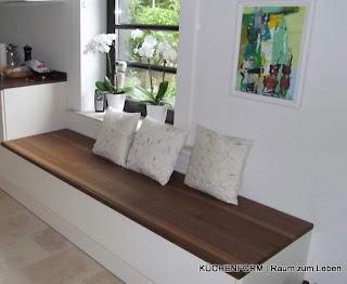 Küchenblog - Küchen in München: Sitzfläche in der Küche