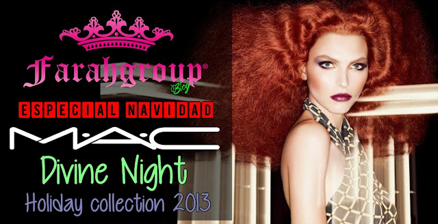 mac cosmetics, holiday collection, navidad, regalos, divine night
