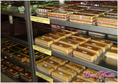 Kek Lapis Sarawak Sedap Murah. Kek Lapis Dayang Salhah