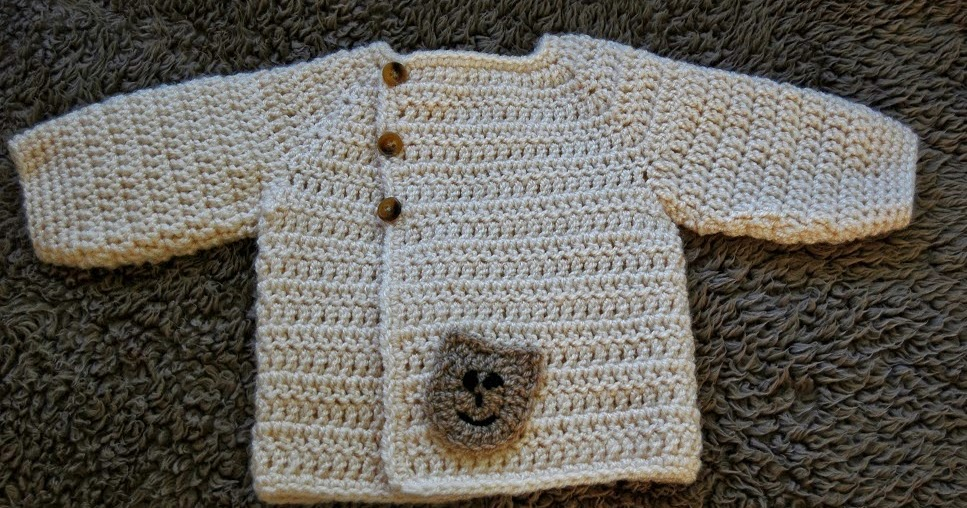 c3e665207 authentic 3746f fff3c cute free beginner crochet baby sweater ...