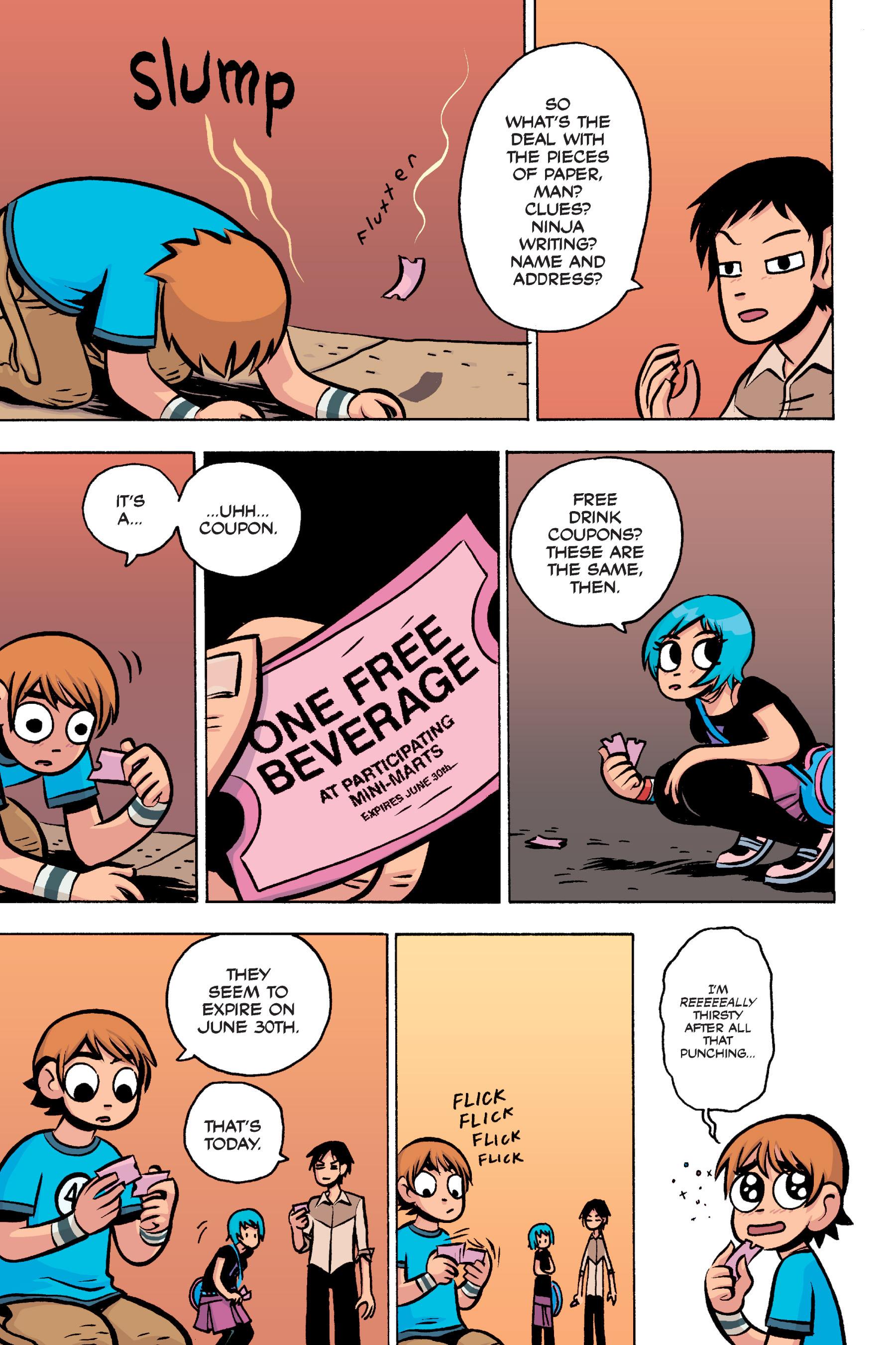 Read online Scott Pilgrim comic -  Issue #3 - 193
