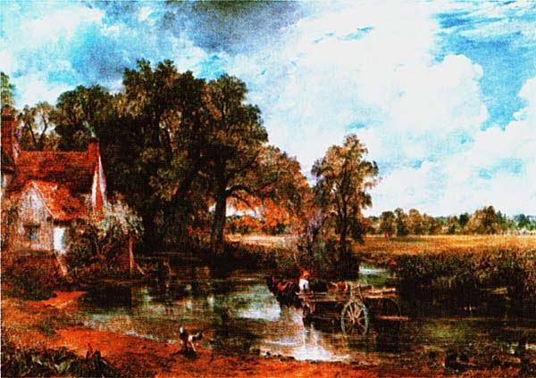 Джон Констебл. Воз с сеном. 1821.