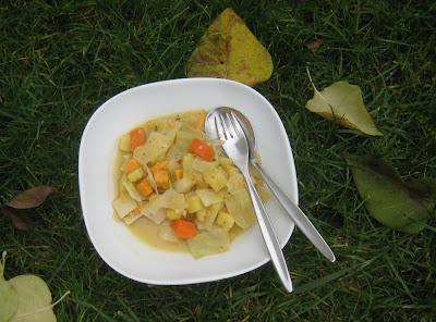 Weißkohl-Gemüse-Curry