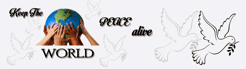 KEEP THE WORLD PEACE ALIVE