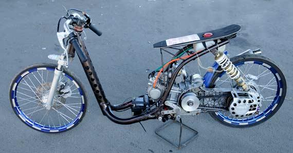 modifikasi yamaha mio drag 2012 dibawah ini koleksi modifikasi  title=
