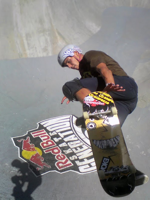 "Felipe ""Foguinho"" at Red Bull Skate Generation in Florianópolis/SC, Brazil."
