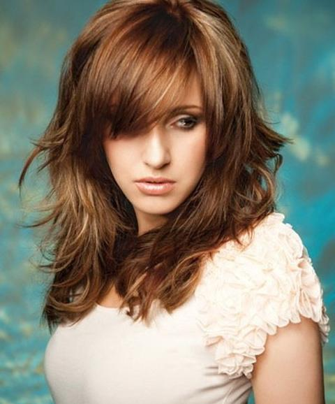 Hairstyles For Long Hair With Bangs Pinterest | Hairstyler Ideas