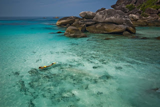 Snorkelers paradise in Thailand
