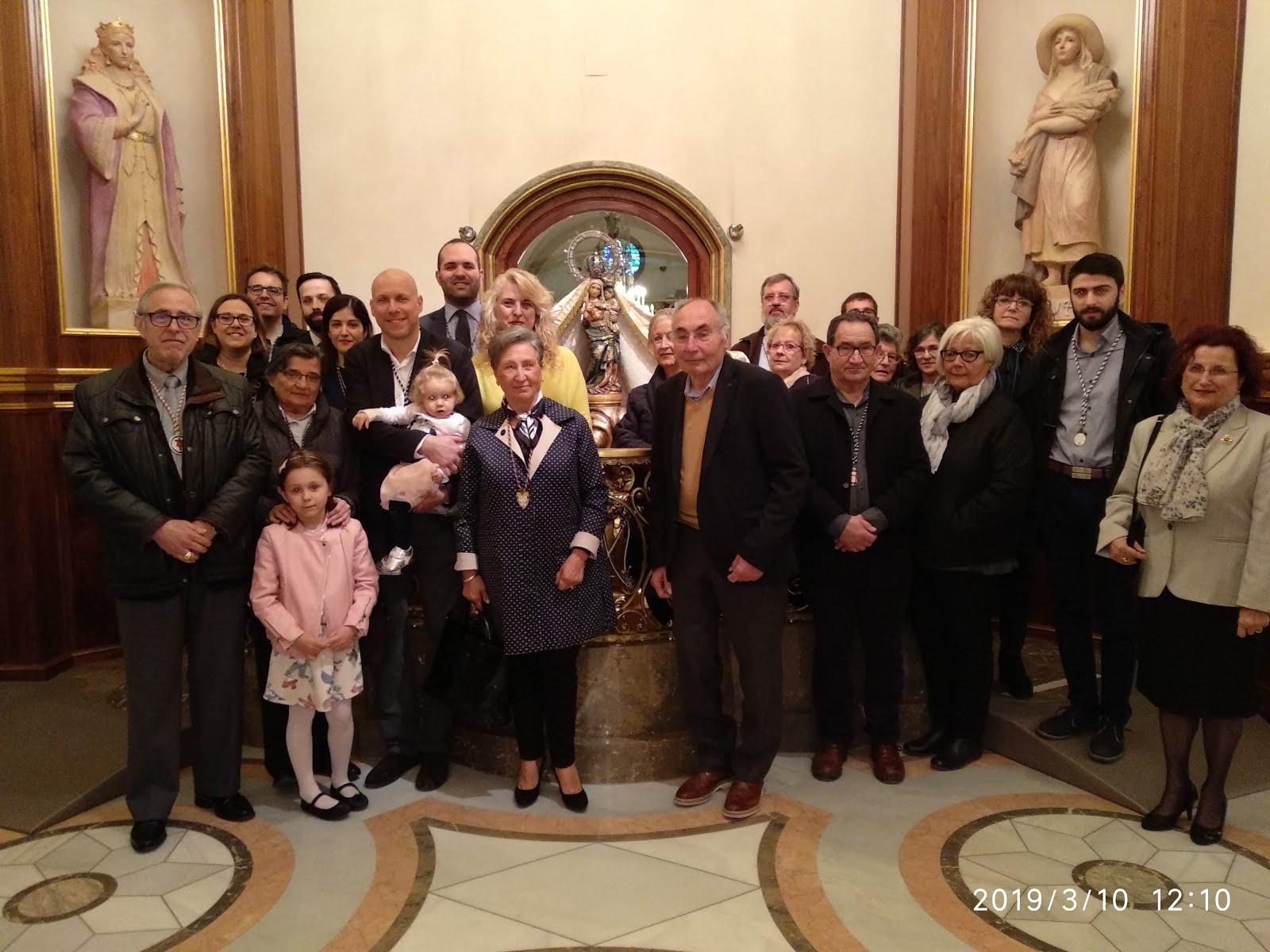 Peregrinació anual de la Confraria de Sant Josep i Sant Juame (Sant Sopar) de Reus