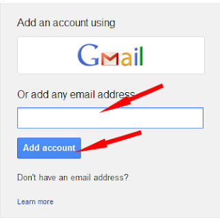 add multiple accounts page in google