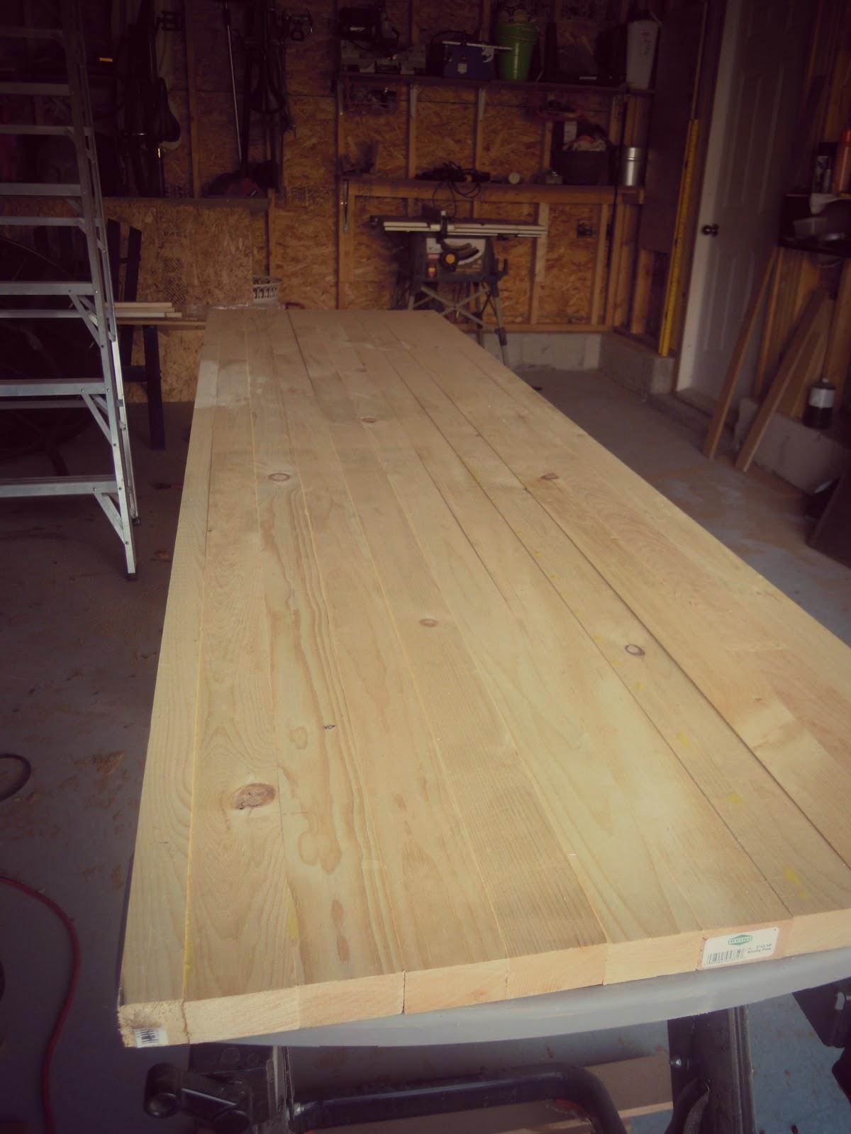 white wood how i built a diy wood counter top. Black Bedroom Furniture Sets. Home Design Ideas