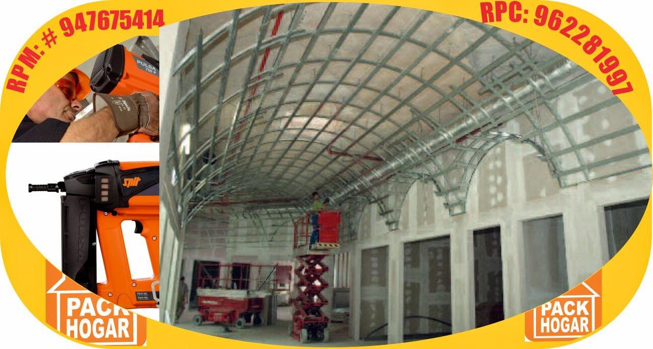 Drywall Instalaciones Modelos Cielo Raso Para Restaurantes