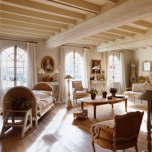 salón provenzal francés