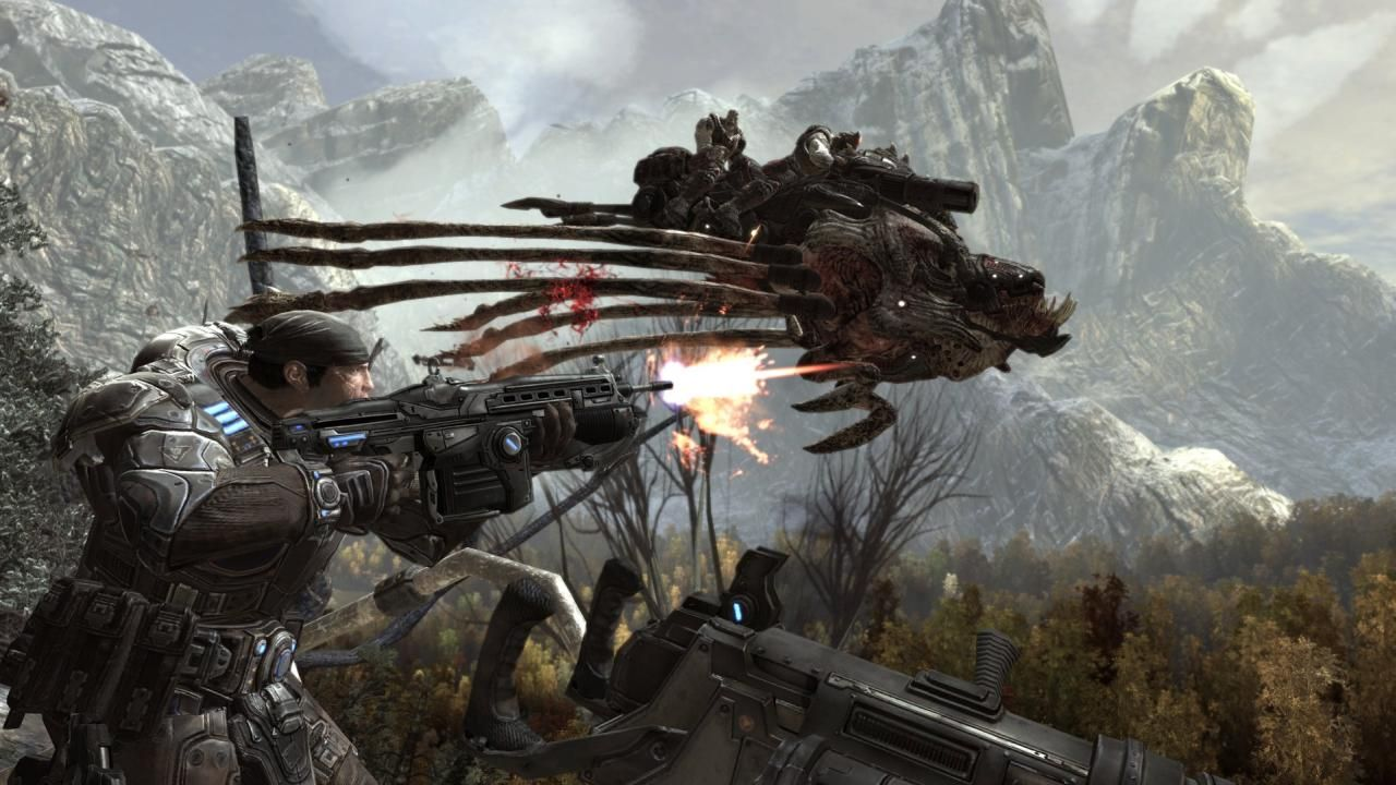 Gears of War HD & Widescreen Wallpaper 0.193345175331128