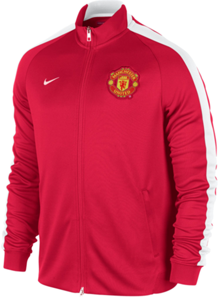 Manchester United N98 Track Jacket Training 2014 - 2015 (Red) Nike