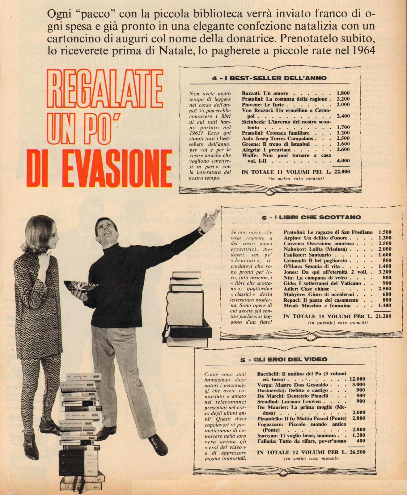 Flash 1963 di generazioni e pick up libri regalo a for Libri regalo