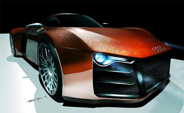 My Oto Moto Audi R10 Diesel Engined Supercar Electric