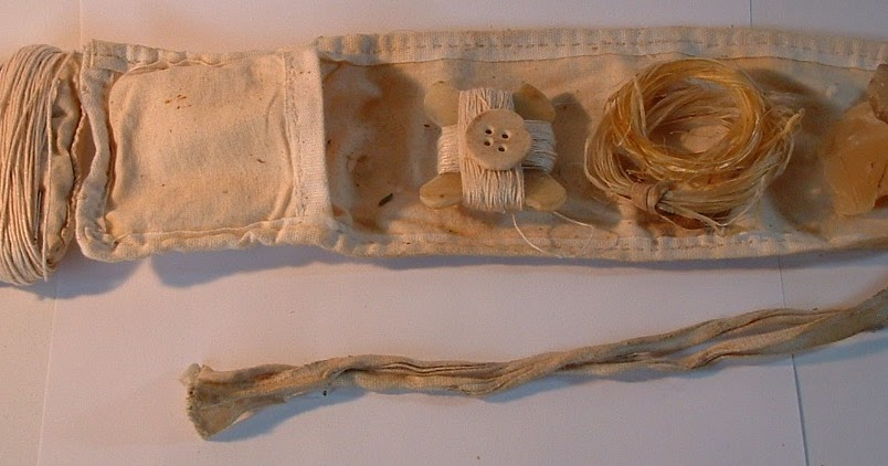 Historical Housewife Hussif Sewing Kit Huswife Huswif Sewing Case 18th Century Regency Civil War