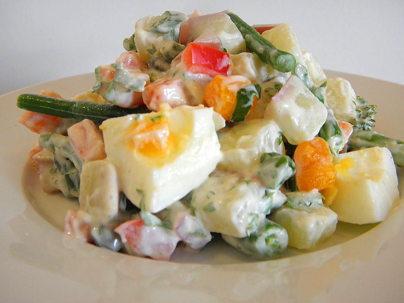 Кто и когда придумал салат оливье