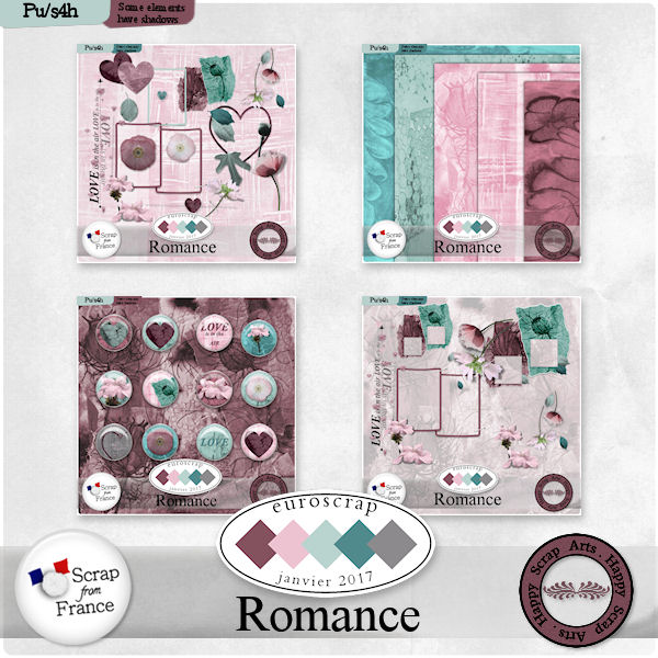 Jan. 2017 HSA Romance bundle