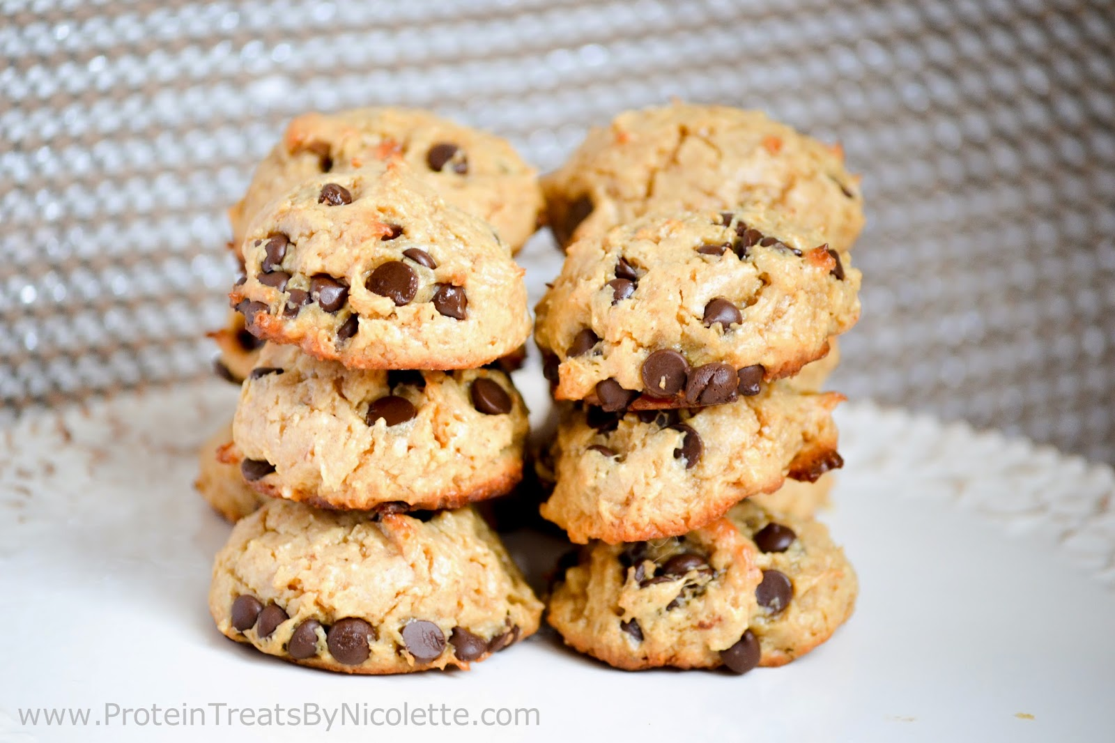 ... Treats By Nicolette : Peanut Butter Chocolate Chip Protein Cookies