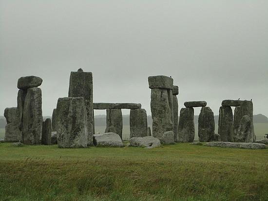 Stonehenge Images -Overcast at Stonehenge