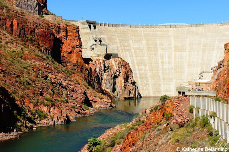Theodore Roosevelt Dam Apache Trail Arizona