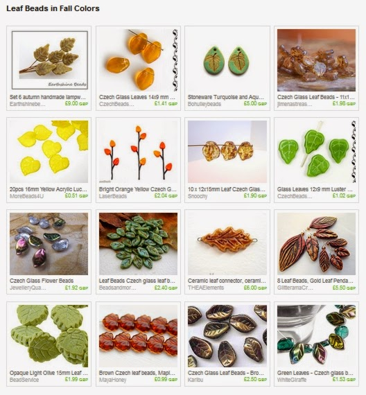 https://www.etsy.com/treasury/MzI0MTEyOTd8MjcyNDM2NjAzMw/leaf-beads-in-fall-colors