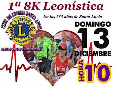 8k y 3k Leonística en Santa Lucía (Canelones, 13/dic/2015)