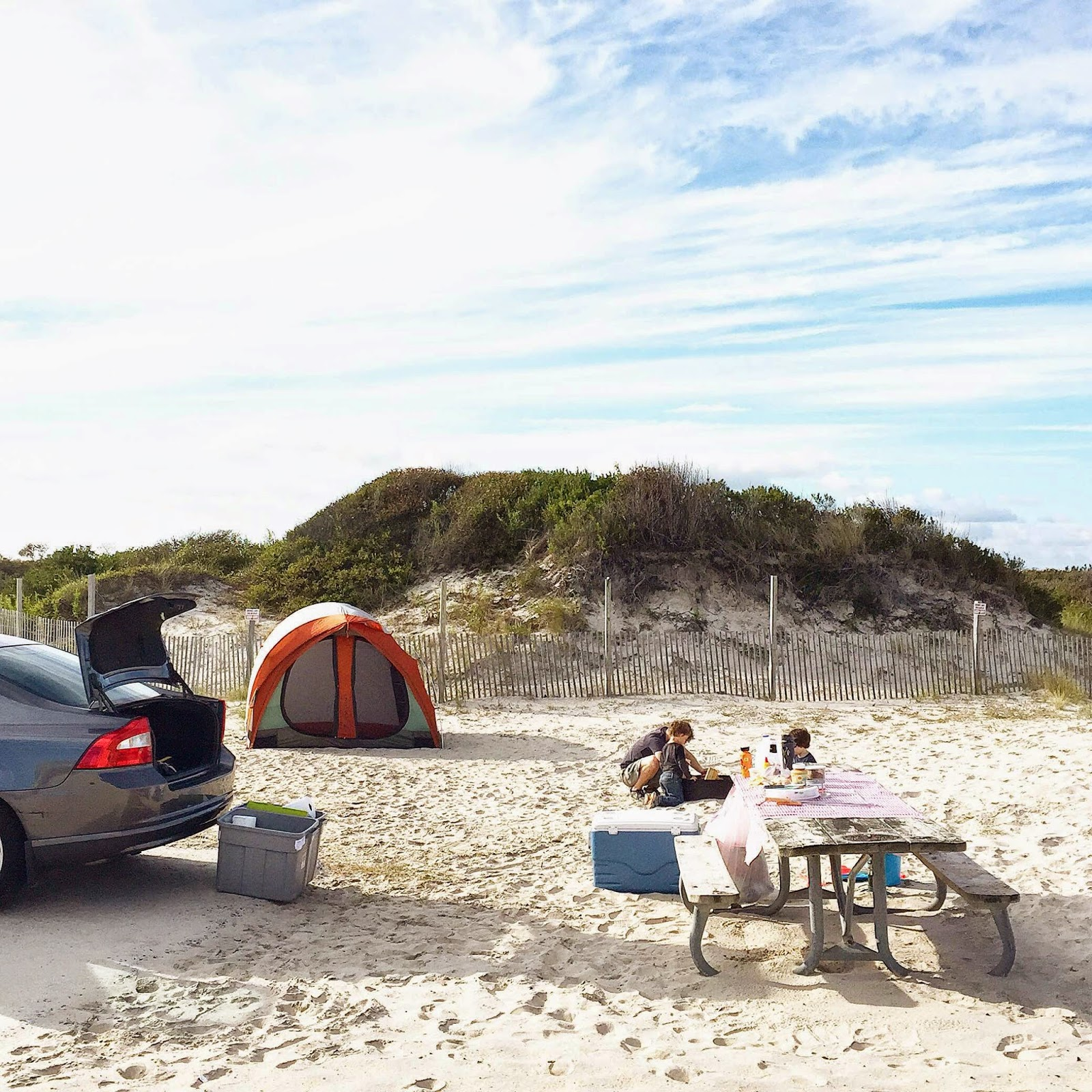 Assateague Island Beach Camping