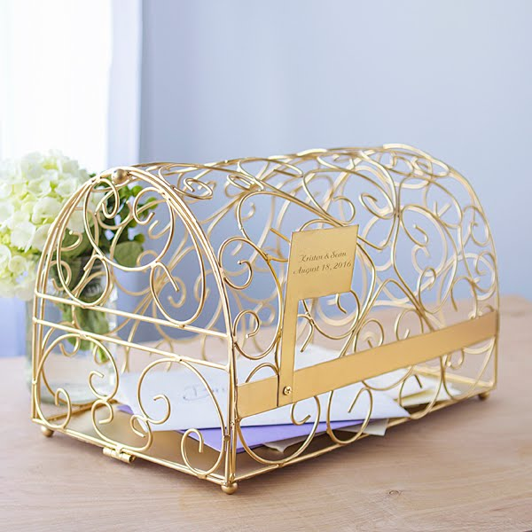 19 Wedding Gift Card Box Ideas – Wedding Reception Gift Card Holder