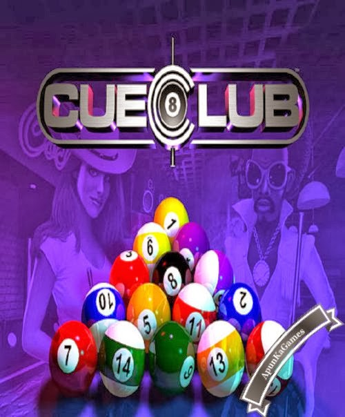 International Cue Club Cover, Poster